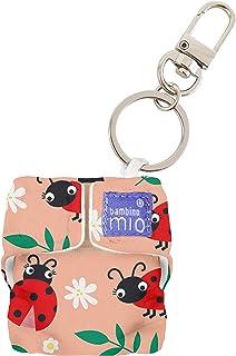 Bambino Mio, Minisolo Nappy Key Charm, Loveable Ladybug