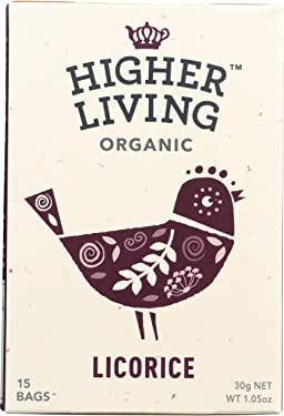Higher Living Regaliz Tea Bolsa 15