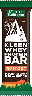 KLEEN Sports Nutrition Whey Protein Bar - Moca Choco Loco