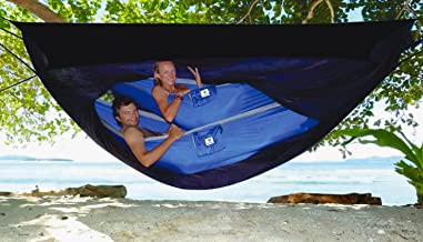 Hammock Bliss Sky Tent 2 - A Revolutionary 2 Person Hammock Tent - Waterproof Hanging Tent Provides Spacious and Cozy Shelter For 2 Camping Hammocks - Embrace Hammock Camping Comfort