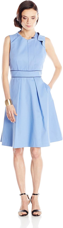 Amicia Bella Ruffle Neck Jennifer Dress with Pockets