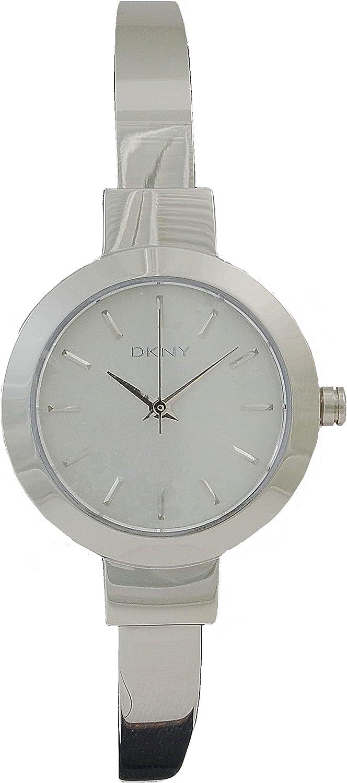 DKNY Reloj analogico para Mujer de Cuarzo con Correa en Acero Inoxidable NY2349