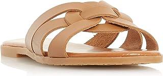 Dune London Women's Lemonie Di Woven Strap Mule Sandals