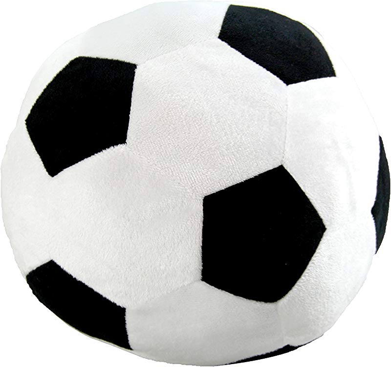 Just For Kids Home Shaped Soccer Ball Decorative Pillow