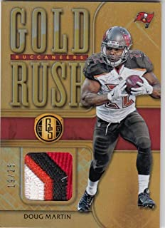 2017 Panini Gold Standard Doug Martin #7 NM Near Mint MEM 19/25