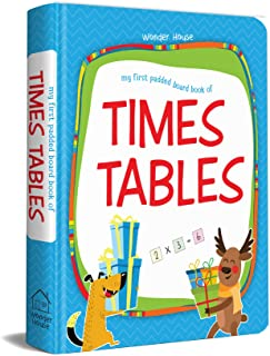 My First Padded Board Books of Times Table : Multiplication Tables From 1 - 20