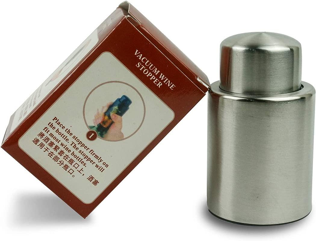 Stainless Steel Vacuum Wine Stopper Sealer Preserver