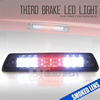 For 2009-2014 F150 LED Rear 3rd Third Brake Light Stop with Cargo Lamp (Smoked)
