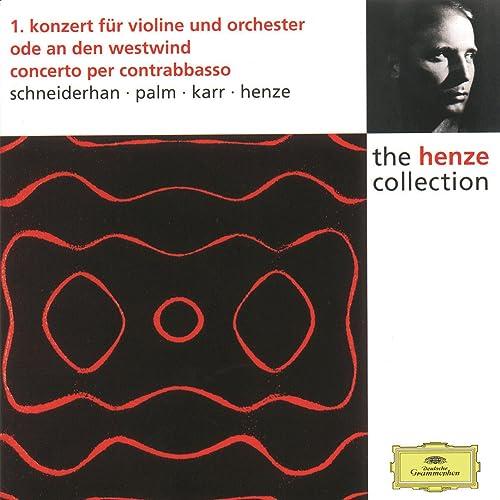 Risultati immagini per henze edition violin concerto dg