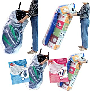Big Plastic Bags Multi-Purpose Drawstring Bag Set Dust Cover For Keeping Golf's Bag, Picnic Mattress Good for Household Or...