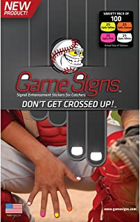 Game Signs Catcher Signal Enhancement Stickers, Variety Pack