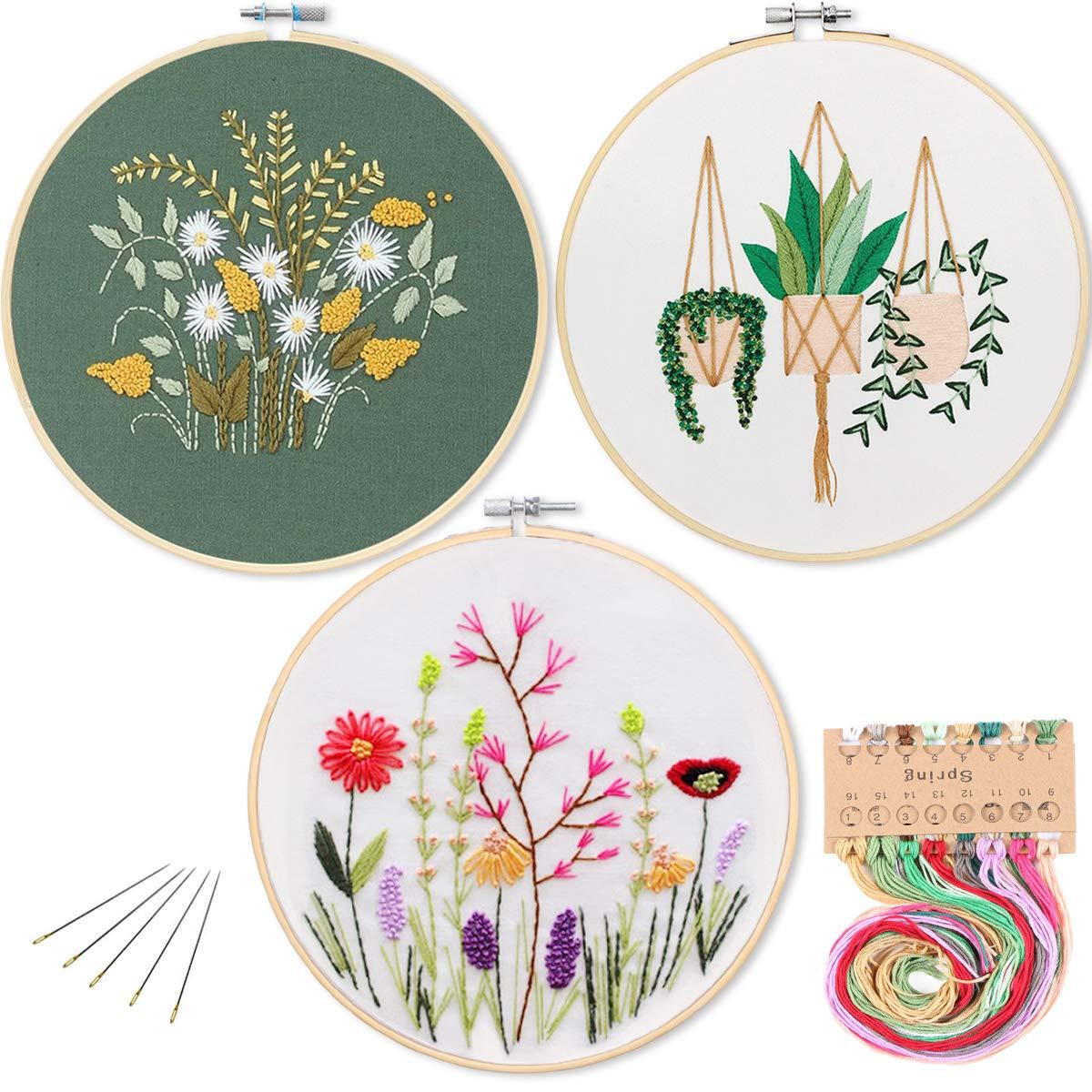 Embroidery Starter Pattern Kissbuty Stamped
