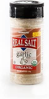 REDMOND REAL SALT Organic Garlic Salt, 4.75 OZ