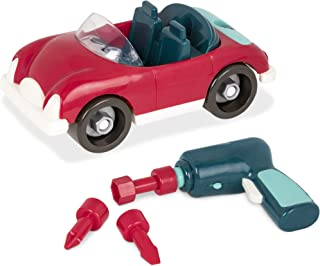 Battat – Take-Apart Roadster – Colorful Take-Apart Toy Car with Working Toy Drill for Kids Aged 3 and Up (22pc)