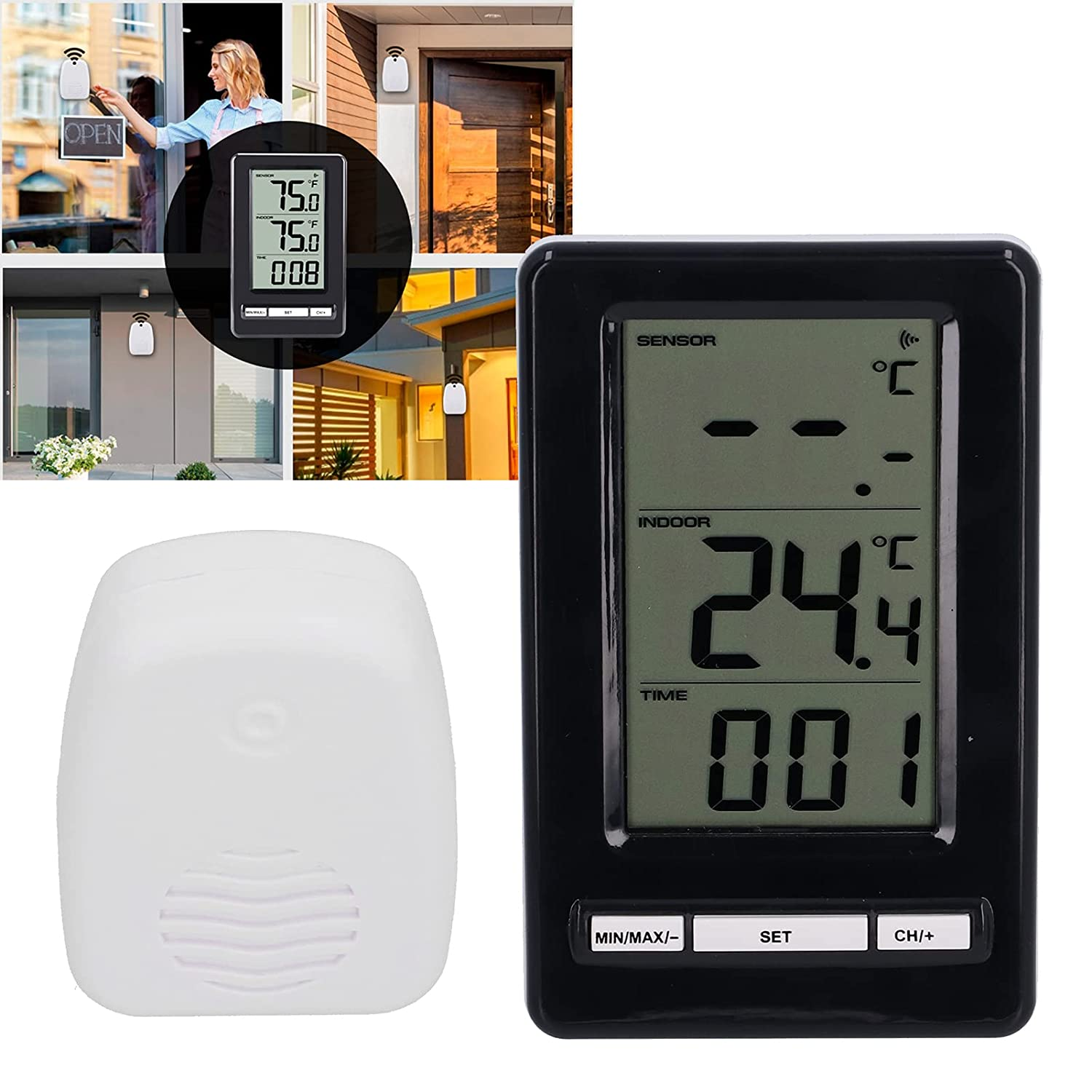 Temperature Gauge Portable Max 73% OFF Offices for Incubators New arrival