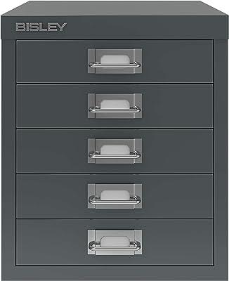 Bisley Armoire de classement en métal, Gris Anthracite, Taille Unique