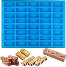 BUSOHA 40 Cavities Silicone Rectangle Mold/Ice Cube Tray/Candy Chocolate Making Mold/Caramel molds/Truffle mold/Cake Fonda...
