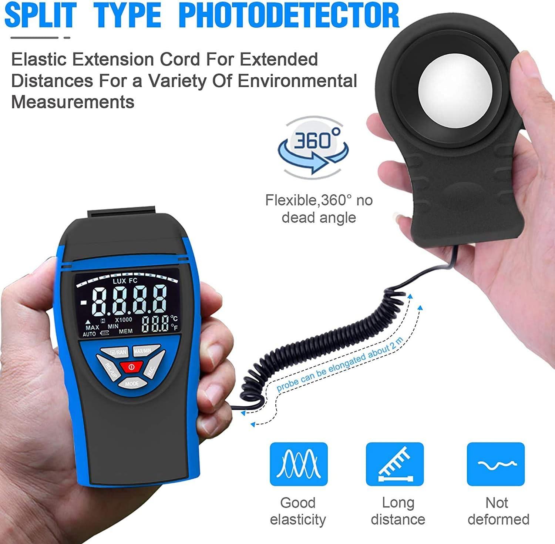 gaixample.org INFURIDER Digital Light Lux Meter,Accurate Measures ...