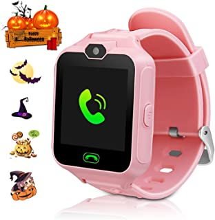 ZOPPRI Kid smartwatches Kids Phone Watch Girls Boys Birthday Gift for 3-15 Years Old, Touch Screen with Camera and Many Clock Interface, Alarm Function Kids Toys Gift.(Pink)
