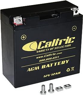 CALTRIC AGM BATTERY Fits YAMAHA XVS1100A V-STAR 1100 CLASSIC 2000-2009