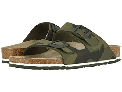 Birkenstock Arizona (Desert Soil Camo Green Birko-Flortm) Men