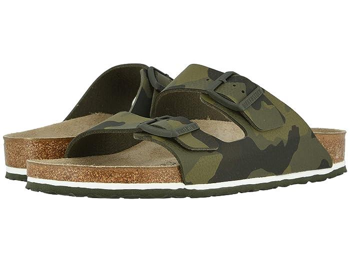 Birkenstock  Arizona (Desert Soil Camo Green Birko-Flortm) Mens Shoes