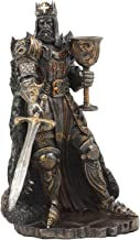 Ebros Legendary King Arthur Pendragon Wielding The Excalibur Sword Statue 10