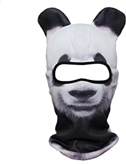 3D Stand Ears Animal Balaclava Face Mask for Music Festivals, Raves, Ski, Halloween, Party Outdoor Activities