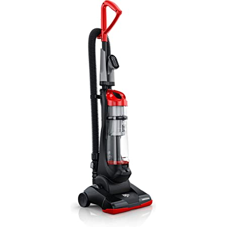 Dirt Devil Endura Reach Upright Bagless Vacuum Cleaner For Carpet And Hard Floor Lightweight Corded Ud20124 Red