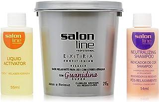 Guanidina Salon Line- Kit Extra Super (Condicionador-215 gr, Ativador-54 ml, Neutralizador-54 ml)