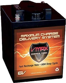 VMAXTANKS 6 Volt Deep Cycle Battery