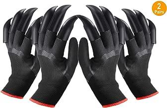 clawed easy gardening gloves