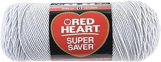 Red Heart Super Saver Yarn-Light Grey