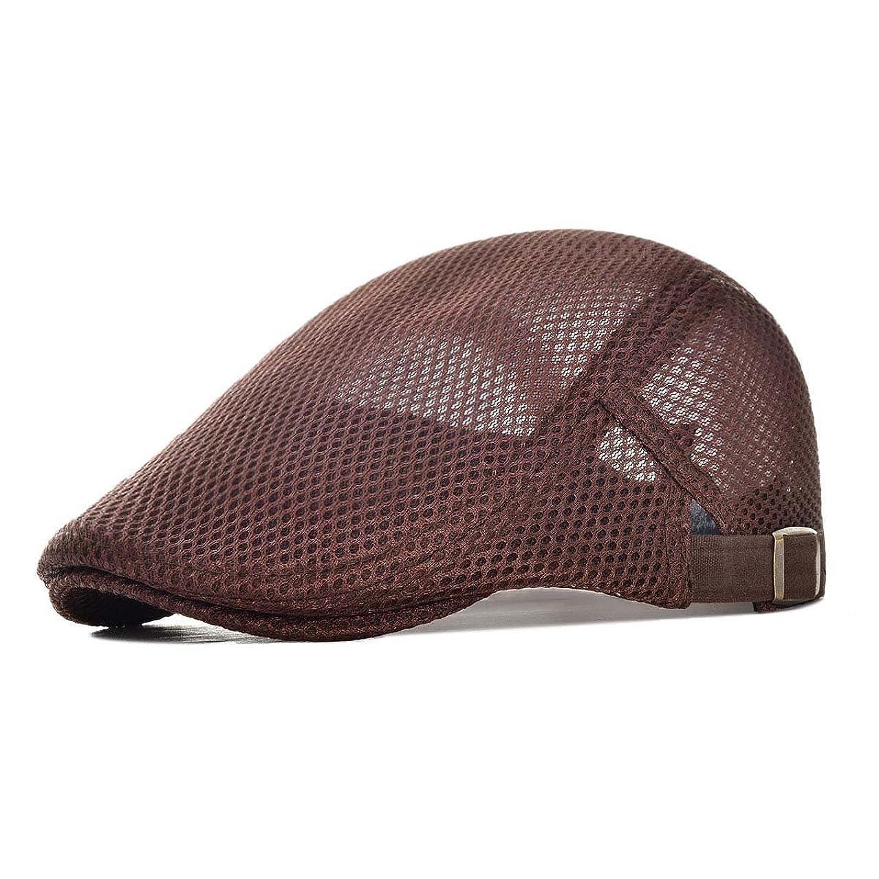 特異性ヤギ暖かくVOBOOM オール メッシュ ハンチング メンズ レディース 夏用 メッシュ キャップ 帽子 メッシュ ワークキャップ BDMZ124