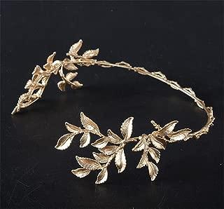 Gold Leaves Bridal Crown Headband Wedding Hair Accessory Crown Tiara(#57)