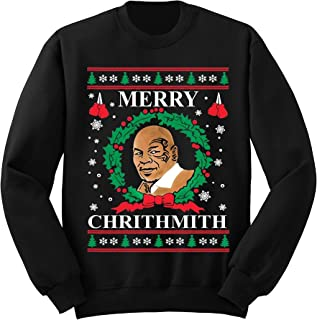 mike tyson xmas sweater