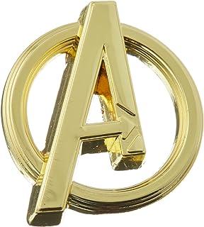 Marvel Avengers Logo Gold Gold Pewter Lapel Pin جدید و اسباب بازی های سرگرمی