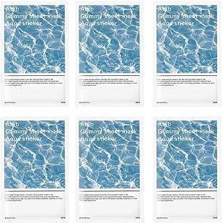 Abib Gummy sheet mask Elasticity Moisture Aqua Sticker 30ml/1.01 fl.oz (6-sheets)