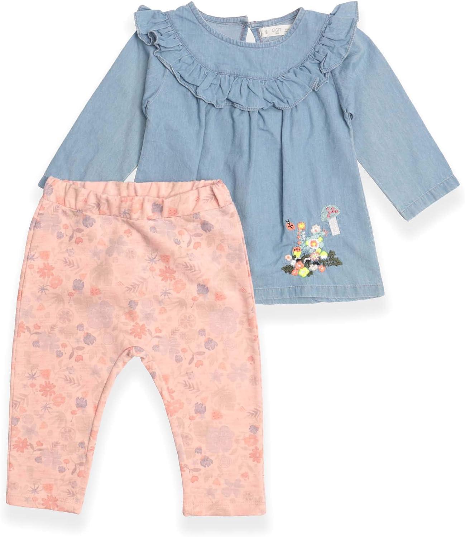 CIGIT Baby Pant Set (6-12 Months) Blue