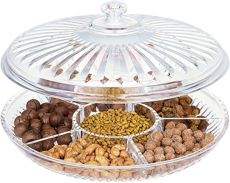 BYFRI 1pc Snack-Plato Plato Paja De Trigo Dried Fruit Aperitivo Bandeja para Servir De Contenedor Caja De Almacenamiento para Hogar Snacks Frutos Postres