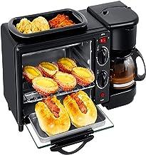 Luyshts Machine à café multifonctionnelle pour Four Grille-Pain Machine à café entièrement Automatique Trois dans Une Mach...