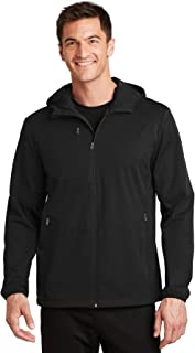 Active Hooded Soft Shell Jacket. J719