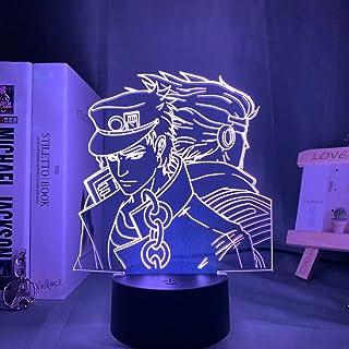 Acrylic Night Lamp Anime Jojos Bizarre Adventure for Bedroom Decor Light Touch Sensor Colorful Table Led Night Light Dio F...