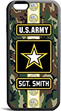 CodeiCases iPhone 5C US Army Woodland Camo Cover With Custom Name, Custom Case Rubber Black D01