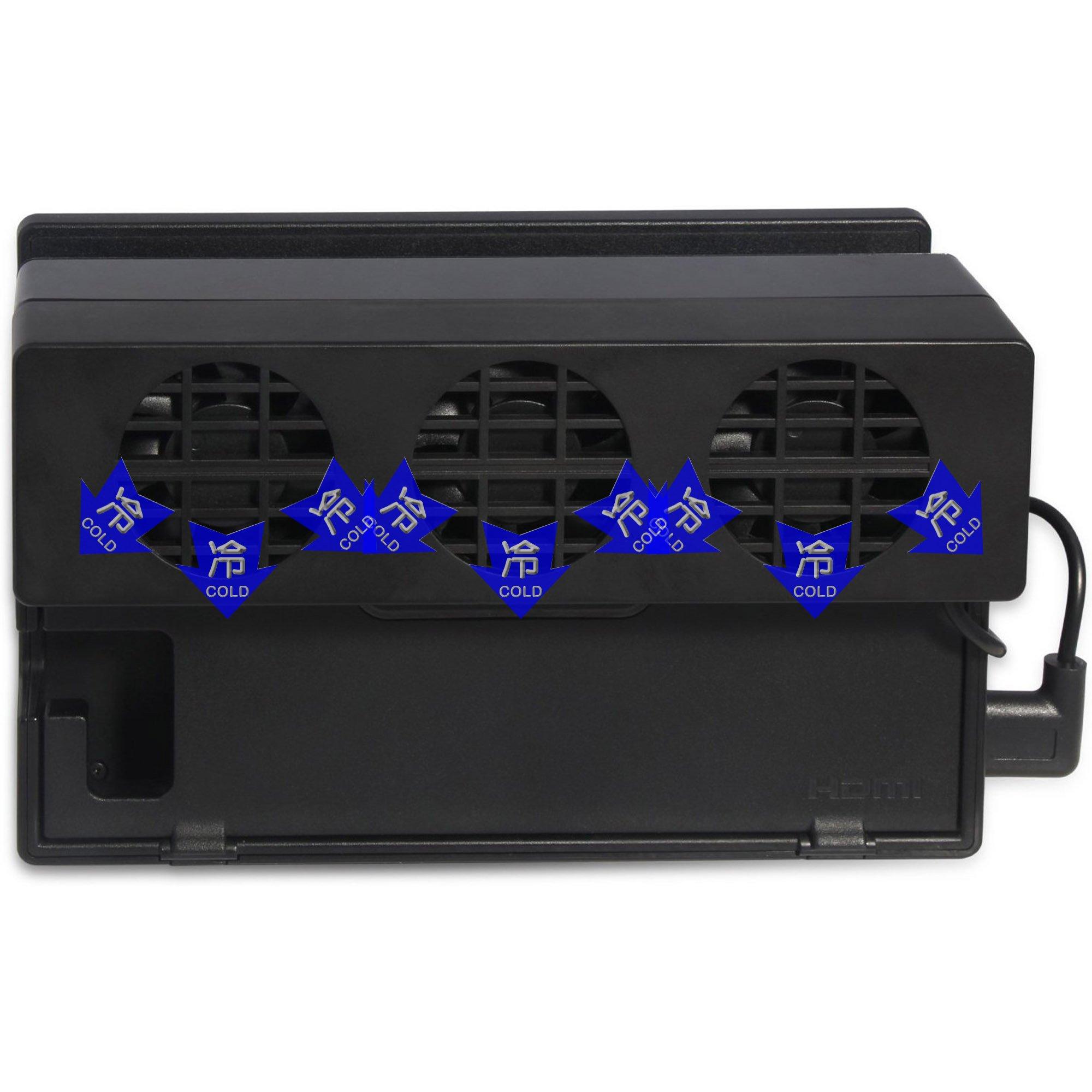 Mcbazel DOBE USB ventilador de refrigeración externo para Nintendo ...