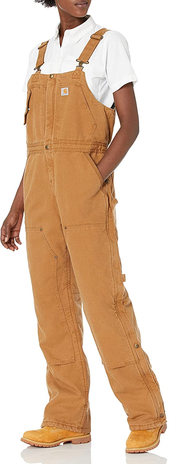 Max 77% OFF Limited Special Price Carhartt womens Weathered Duck Wildwood an Overalls Bib Regular