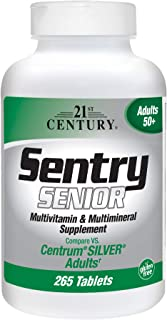 21st Century Sentry Senior Tablets, 265 Count