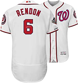Anthony Rendon Washington Nationals Autographed 2019 World Series Champions White Majestic Authentic Jersey - Fanatics Authentic Certified