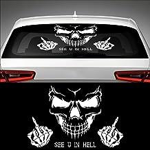 Suchergebnis Auf Für Totenkopf Aufkleber Auto