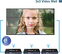 J-Tech Digital ProAV Multi-Channel HDMI VGA AV USB Video Processor 1x4 2x2 with Cascading Function Supports 3x3 4x4 ··· 10x10 Video Wall Controller with Control4 Driver [JTECH-VW02]